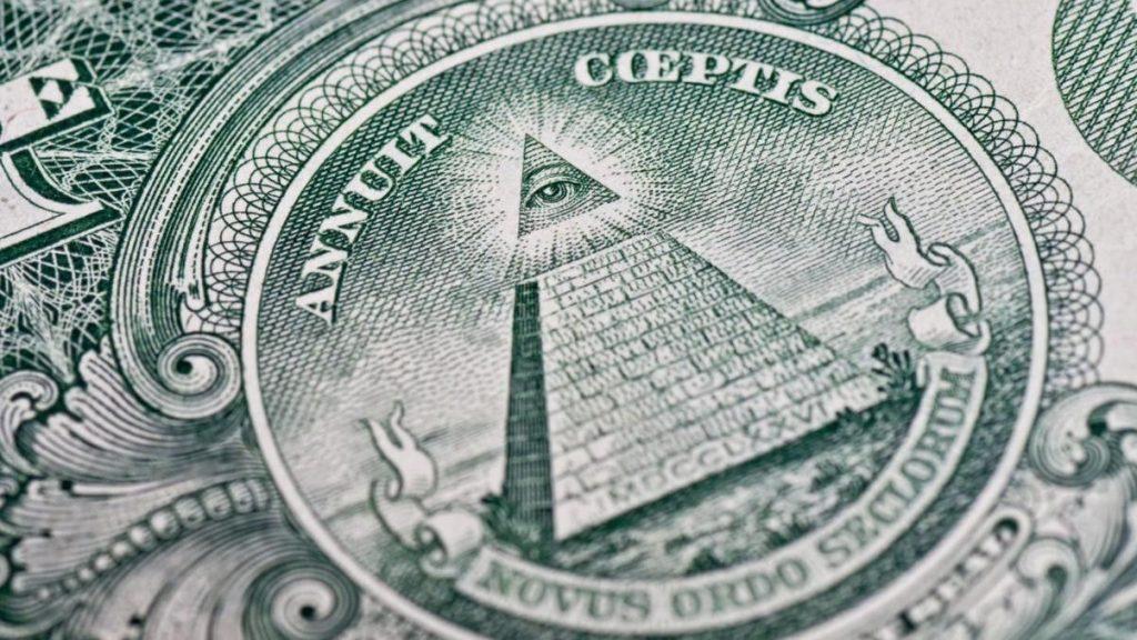 signoraggio piramide banconota