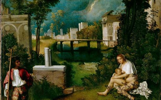 Madri narcisiste -Giorgione-La-Tempesta
